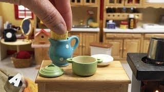 MiniFood 食べれるミニチュア じゃがアリゴ miniature Aligot
