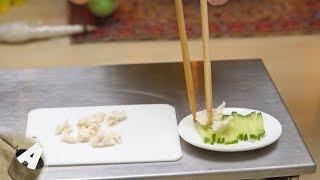 MiniFood 食べれるミニチュア バンバンジー miniature Bon bon chicken