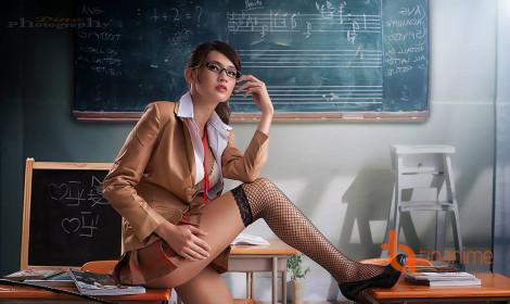 Nóng mắt với bộ cosplay Prison School cực quyến rũ!