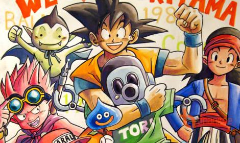 Mừng sinh nhật cha đẻ Dragon Ball - Người đem đến một tuổi thơ tuyệt vời!