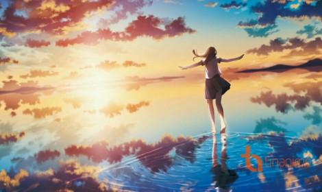 [Artwork] Mặt nước là tấm gương phản chiếu bầu trời!