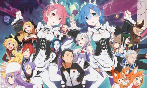 """Top 15 bộ anime """"xuyên không"""" được yêu thích nhất tại Nhật Bản"""