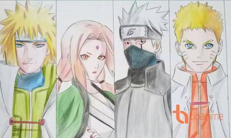 [Góc của Fan] Những kiệt tác tranh Naruto đổ bộ vào TinAnime!!