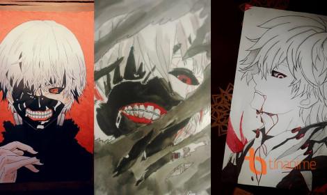 [Góc của Fan] Những tuyệt phẩm Tokyo Ghoul đổ bộ lên TinAnime!