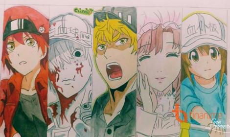 """[Góc của Fan] Khi các """"tế bào"""" được Fan TinAnime vẽ!"""