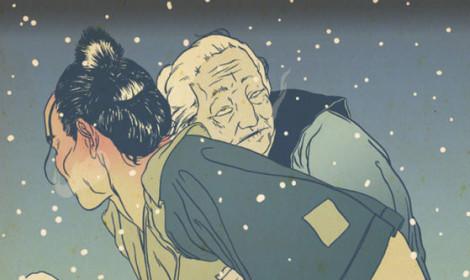 Cõng mẹ bỏ mặc trên núi – tập tục tàn nhẫn trong văn hóa Nhật Bản