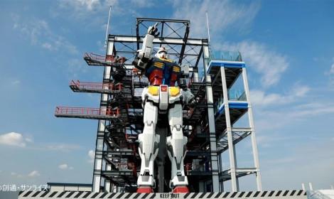 Robot Gundam cao 4-5 tầng sắp cho phép mọi người tham quan!