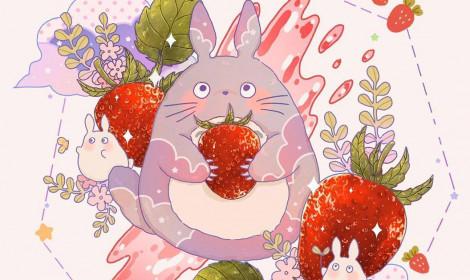 [Artwork] Ghibli cùng đại tiệc thức ăn!