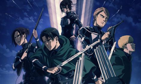 Top 10 anime mùa Đông năm 2021 tuần 1! - Shingeki no Kyojin đứng đầu trong tuần đầu tiên!