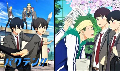 """Anime """"Bakuten!!"""" sẽ được phát sóng trên Fuji TV từ ngày 8 tháng 4!"""