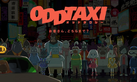 Anime Odd Taxi sẽ ra mắt vào ngày 6 tháng 4 năm 2021