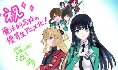 TV Anime Mahouka Koukou no Yuutousei công bố trailer và giới thiệu dàn cast