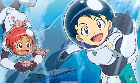 Bộ truyện 'Science Manga Survival' ra mắt anime về đề tài nghiên cứu biển
