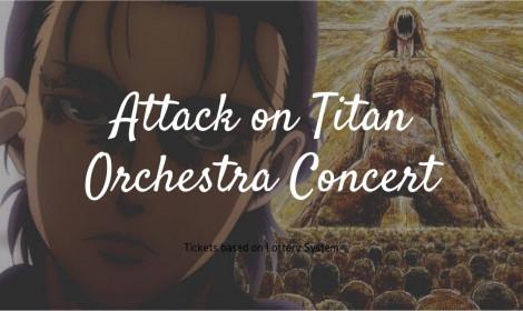 Nhật Bản tổ chức hòa nhạc ngoài trời cho Attack on Titan trong tháng 8 này!