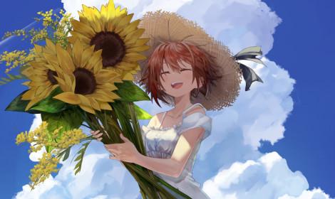 [Artwork] Em là hoa hướng dương, tình yêu của em luôn là một hướng!