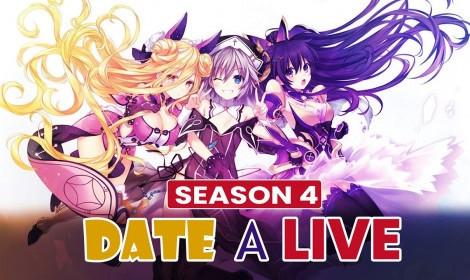 Thay vì tháng 10, Date A Live IV sẽ bị trì hoãn về năm 2022!