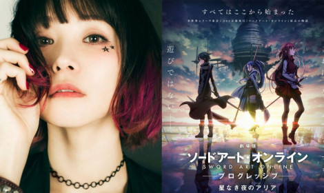 LiSA sẽ biểu diễn bài hát chủ đề cho movie Sword Art Online sắp tới